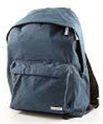 BACKPACK COMIX BLU MELANGE COLLECTION NEW